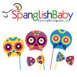 calavera sugar skull masks and spanglish baby