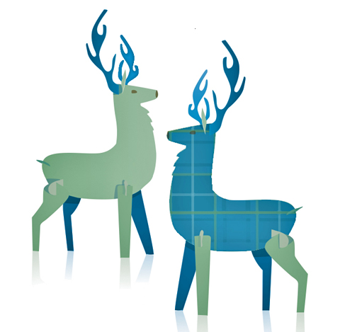 stags from scotland for burns night 25th january 2012
