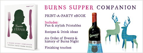 burns supper menu template - burns night patterns templates ideas poems recipes