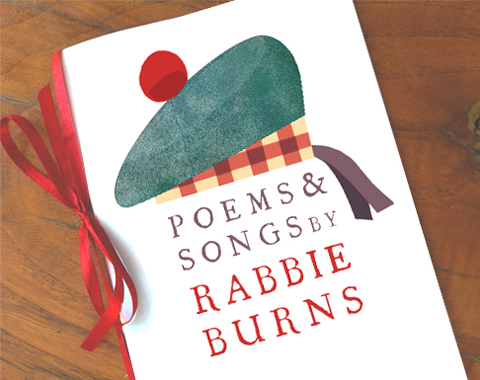 Burns night poem booklet with poems by Rabbie Burns by happythought printables