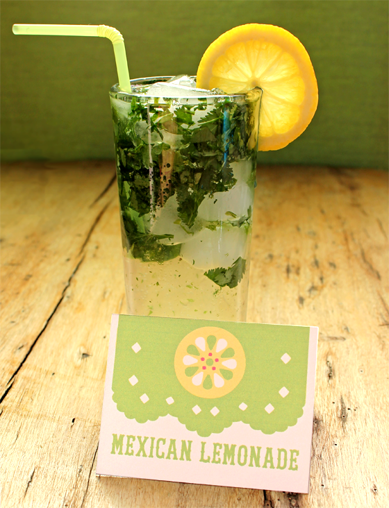 non alcoholic party drinks free printable mexican lemonade
