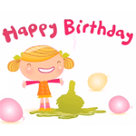 animation cartoon polly puke cute happy birthday cake episode