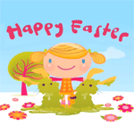 happy easter cartoon animation gross cute funny bunnies