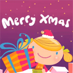 merry christmas funny cartoon animation gross cute