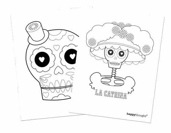 Fun and simple ideas for Day of the Dead or el Dia de los Muertos – Dia De Los Muertos Worksheets