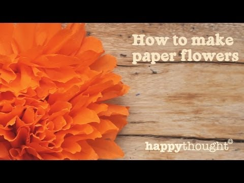 Mexican paper flowers step by step tutorial watch the video mightylinksfo