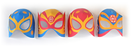 how to make lucha libre masks for cinco de mayo