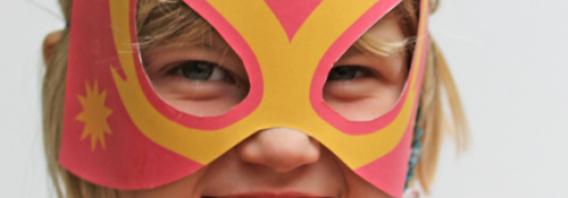 Hacer una máscara de Lucha Libre