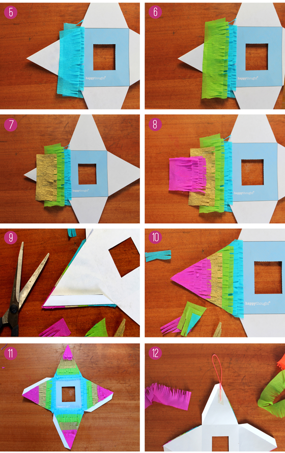 Easy how to make a pinata photo instructions!