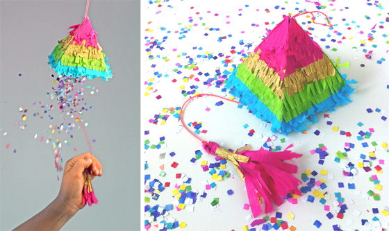 cinco de mayo how to make a pinata rainbow colors