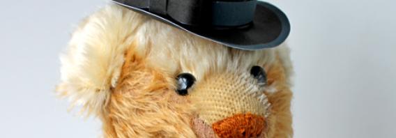 DIY classic black paper top hat