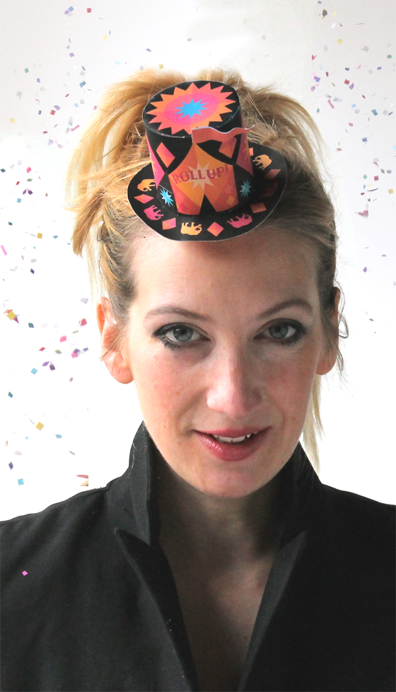 Ellen Deakin: Craft creator mini Circus top hat template to make!