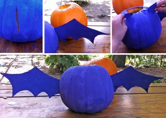 halloween pumpkin bat diy craft and tutorial for halloween