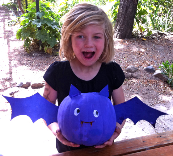 halloween pumpkin bat diy craft and tutorial for making