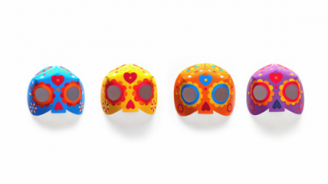 day of the dead dia de los muertos 3d calavera printable masks