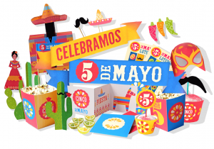 Cinco de Mayo printable PDF DIY kit