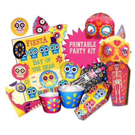 A fun dia de los muertos printable day of the dead templates