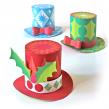 Festive paper hats