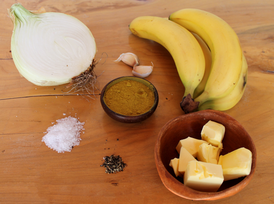recipe and ingredients curried banana soup recipe