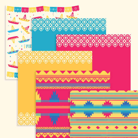 Cinco de Mayo jpeg 12 x 12 papers