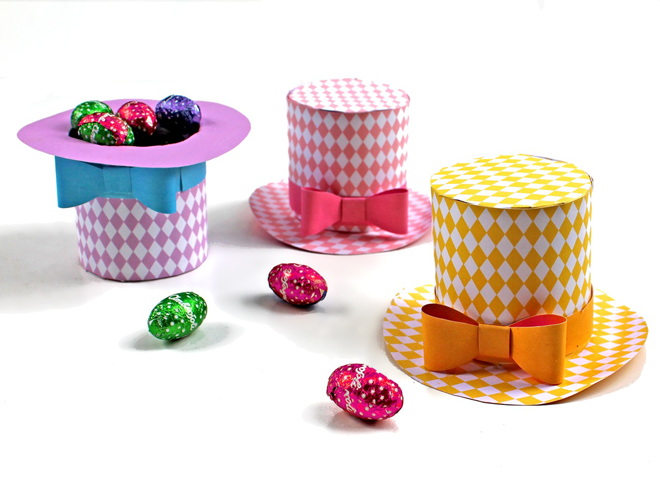 Easter egg holders paper craft