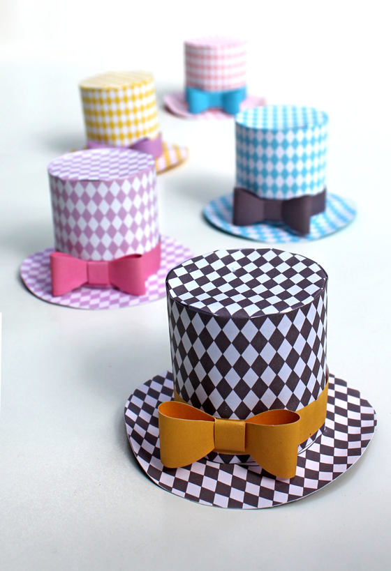 Mini Top Hat Pattern by Happy Thought