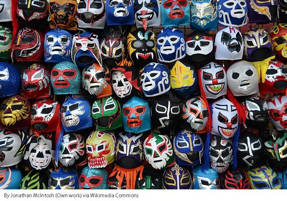 mexicana lucha libre masks