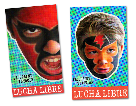 Ideas for Cinco de Mayo: Mexico festival - Lucha libre face paint tutorial