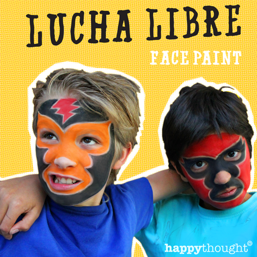 Lucha Libre face paint tutorial video