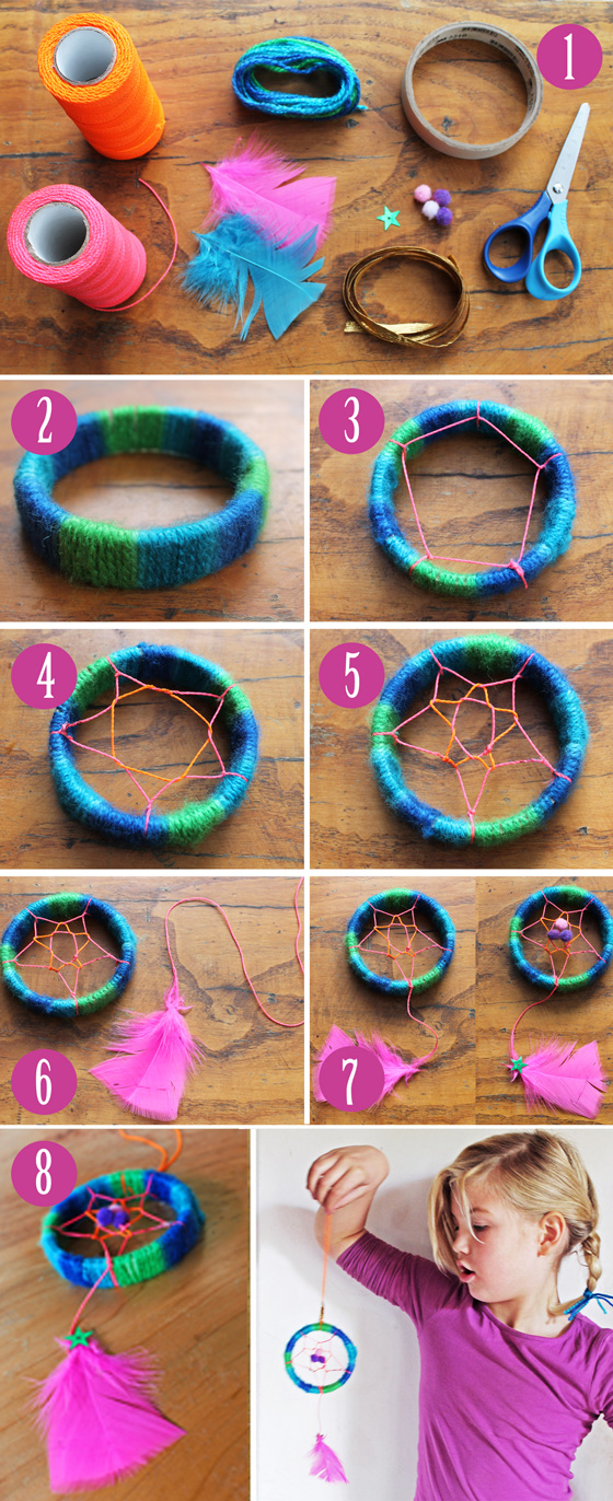 Sweet Dreams Forever Dreamcatcher Craft Ideas Video Tutorial