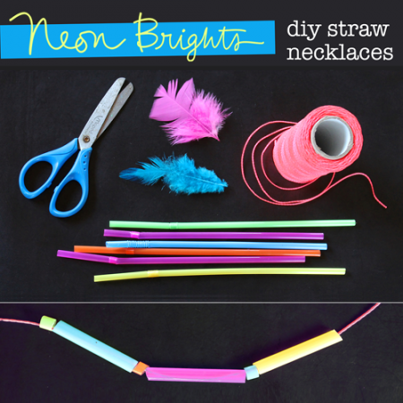 crafts with drinking straws tutorial and easy make step by step