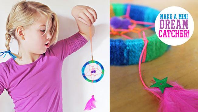 happythought ideas for parents and teachers dreamcatcher tutorial