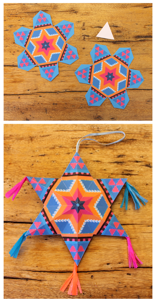 Mexican Diy Paper Stars For Decorations