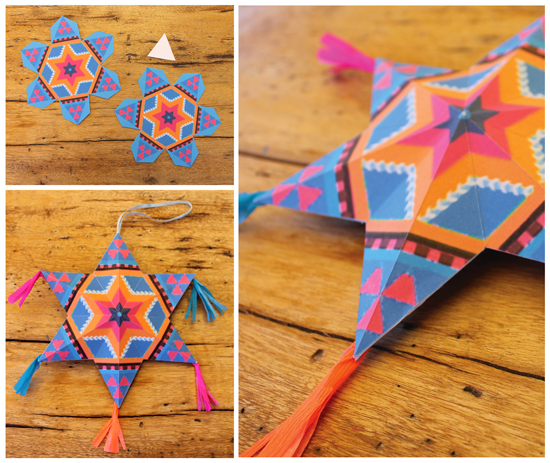 4 Fun And Easy To Make Mexican Paper Craft Decorations