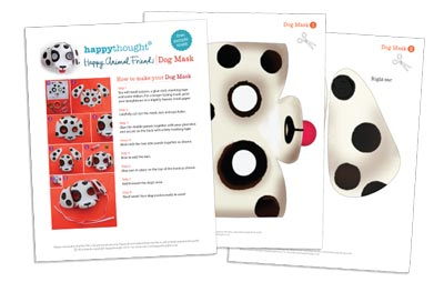 10 Printable Animal Masks