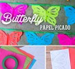 Easy to make Butterfly Papel Picado