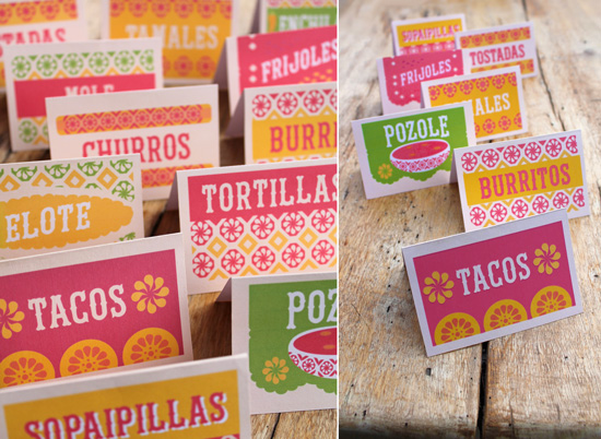 printable mexican signs for a party