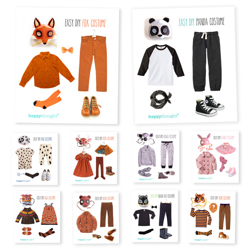 10 animal costume ideas for dress up, class, play and parties!
