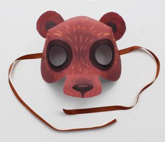 Easy homemade bear costume