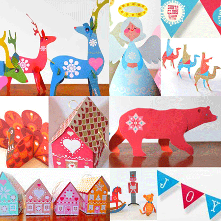 10 fun and easy to make festive decorations!