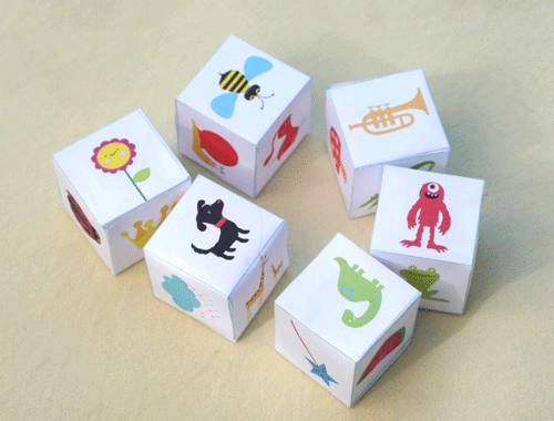Storytelling dice ideas to spark creativity!