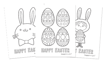 image relating to Easter Bunny Printable Template identified as No cost Easter Bunny Garland. Easter Trip Do it yourself printable