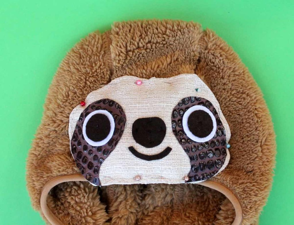 5-hoody-sloth-steps-by-step instructions