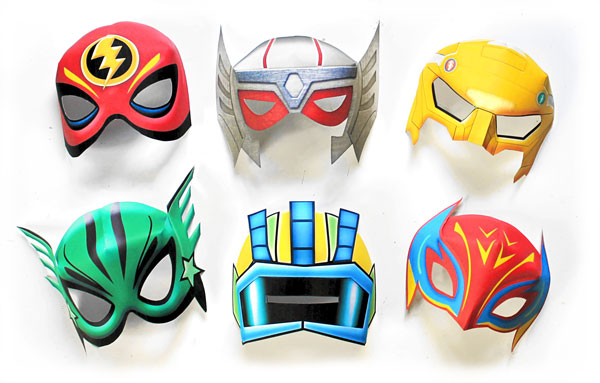 Six superhero mask and costume ideas for dressing up