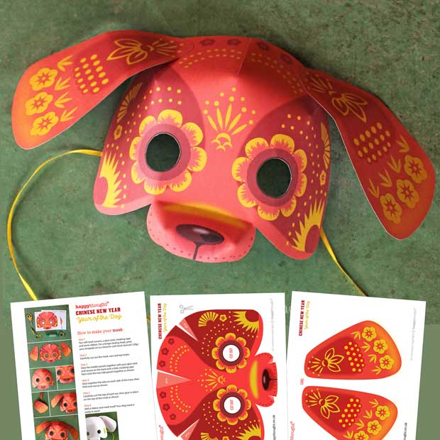 Diy Free Templates For Members 3d Masks Activities Easy
