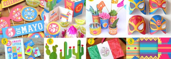 Craft activity 5 de Mayo printables