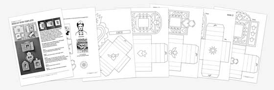 Day of the Dead PDF worksheets Learn and play printable kids – Dia De Los Muertos Worksheets