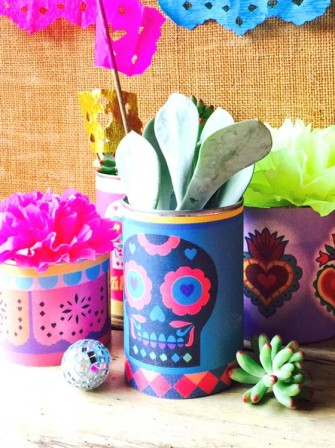 Printable Day of the Dead centerpiece
