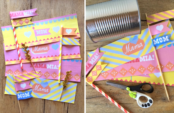 Mother's Day printable labels: Templates and patterns - Mom, Mama, MamaMia!