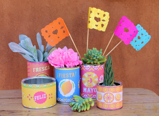 5 de mayo printables: Printable Mexican food can labels!